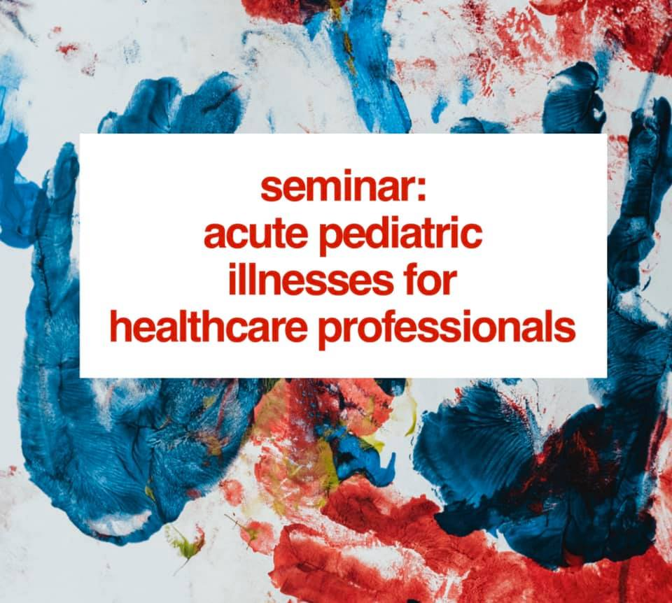 Health Care Professionals Seminar – November 10th @ 10am, lunch provided