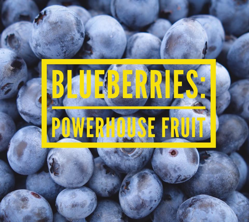 Superfood you'd like to know about: Blueberries