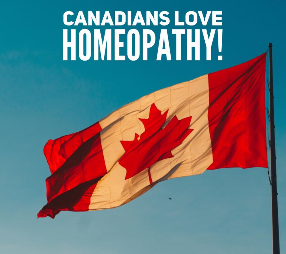 Canadians love Homeopathy