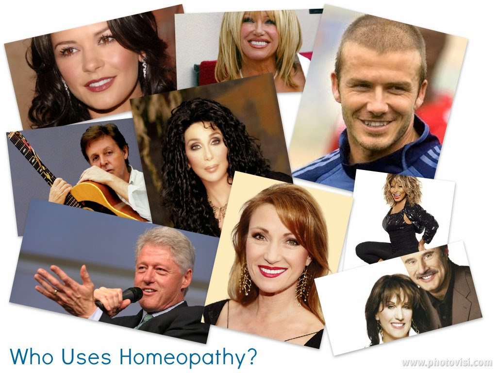 Celebrities using Homeopathic Remedies