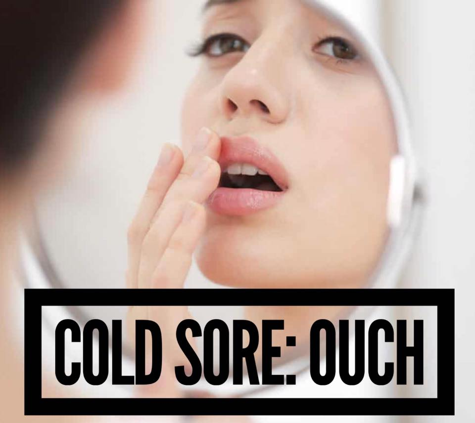 Cold Sore... let Homeopathy help!