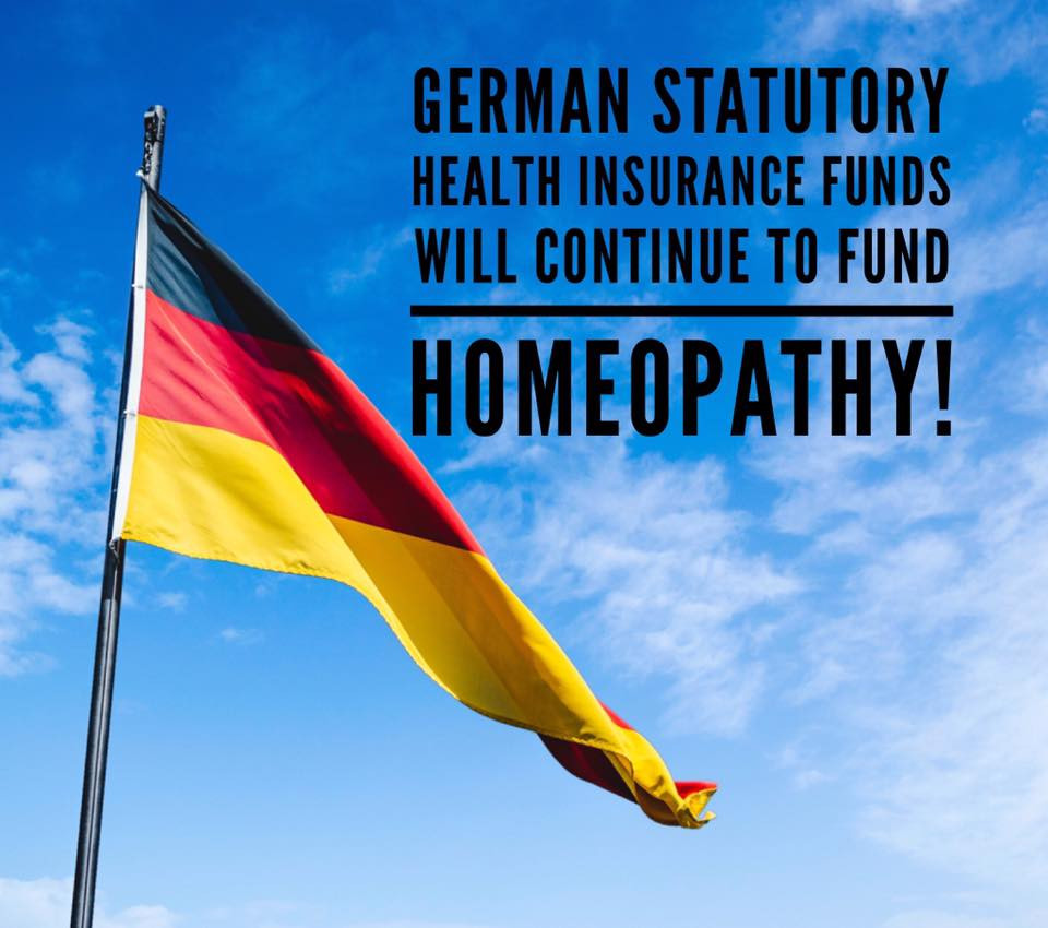 Germany continues Funding for Homeopathy