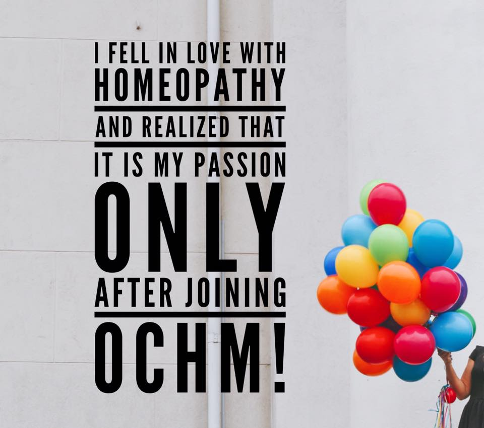 Homeopathy is now my Passion!