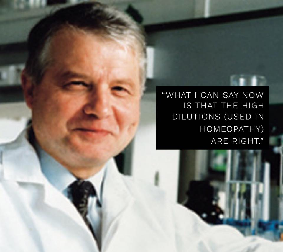 Nobel Prize Winner, Dr. Luc Montagnier, takes Homeopathy seriously