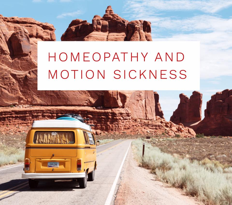 Motion Sickness relieved with the help of Homeopathy