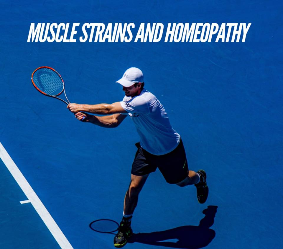Muscle Strain and Homeopathy