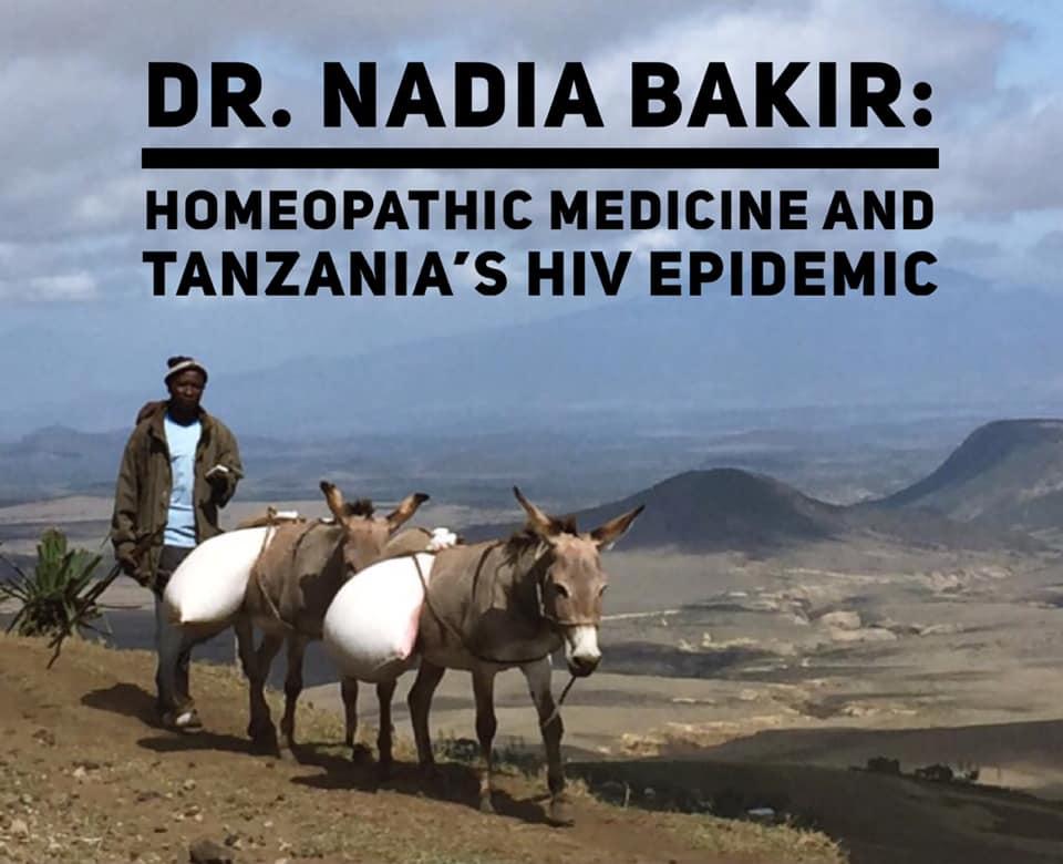 Homeopathic Medicine and TANZANIA'S HIV EPIDEMIC