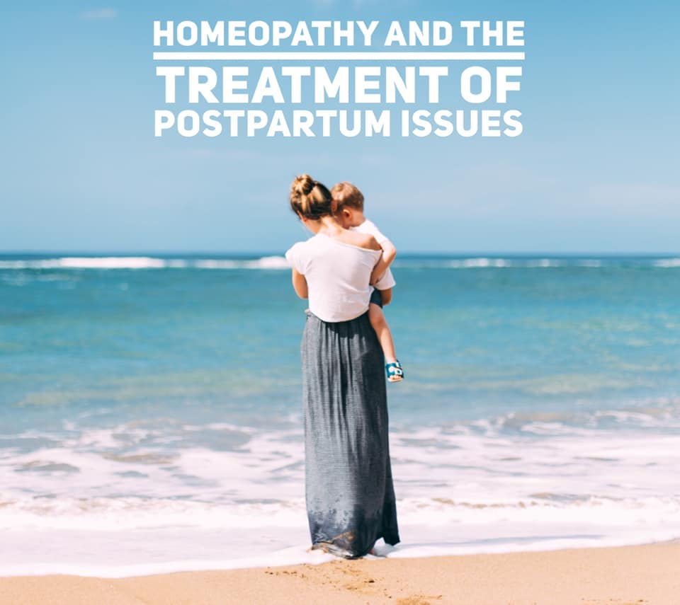 Homeopathy helps with Postpartum issues