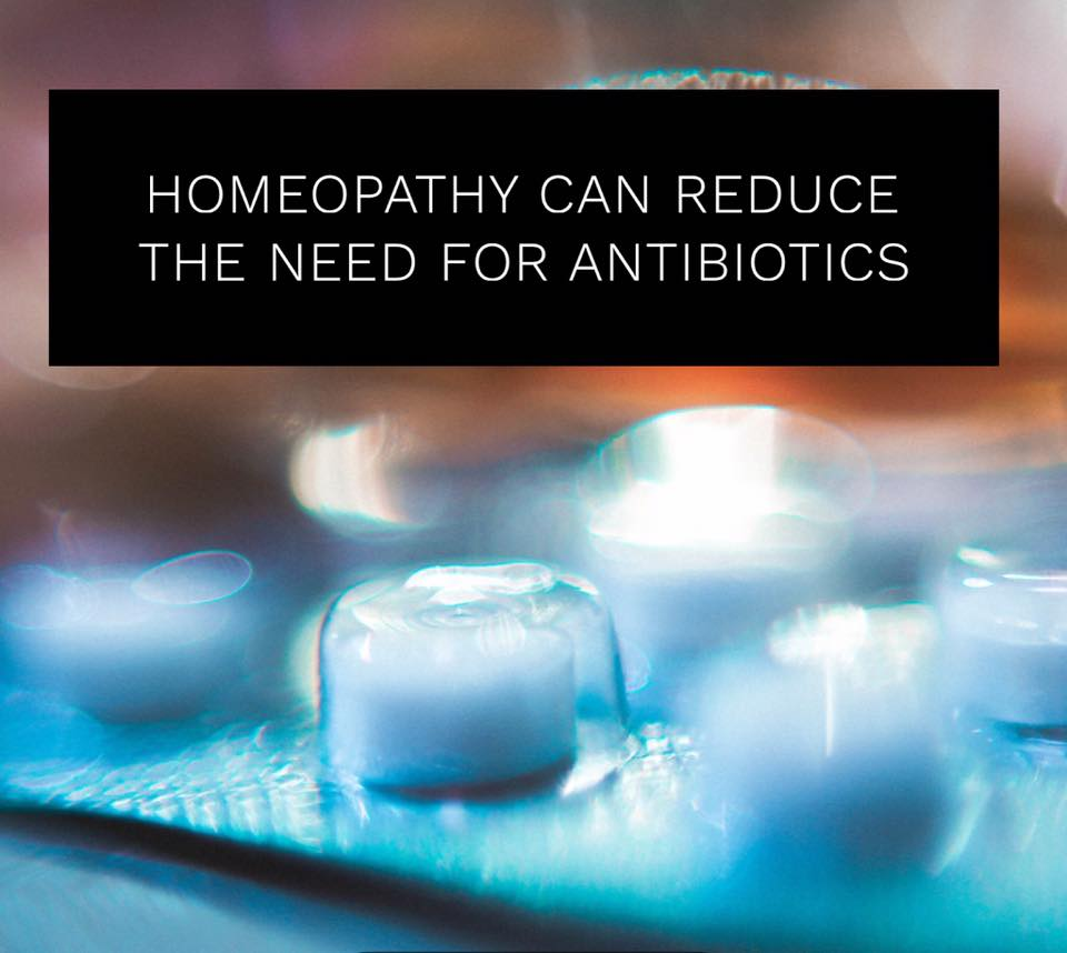 Homeopathy can Reduce the need for Antibiotics