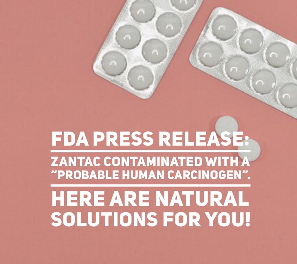 Natural Solutions as alternative to Zantac