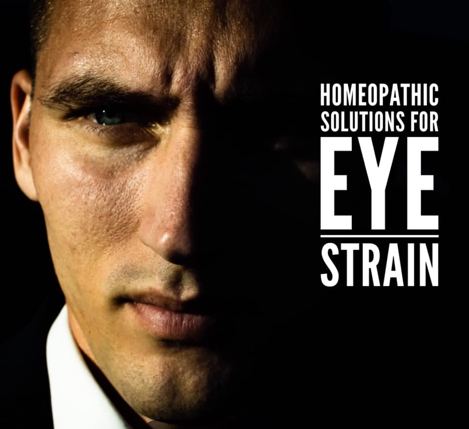 Homeopathic Solutions for Eye Strain