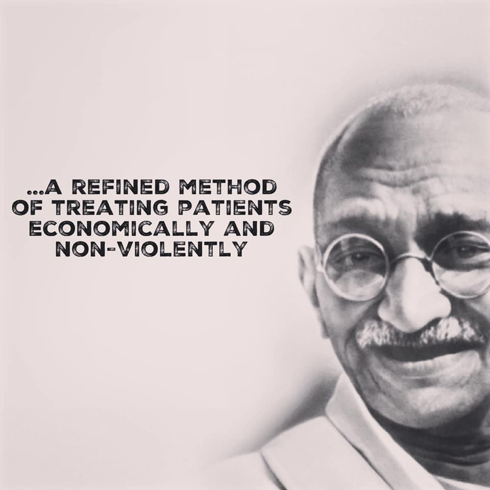Mahatma Gandhi - thoughts about Homeopathy