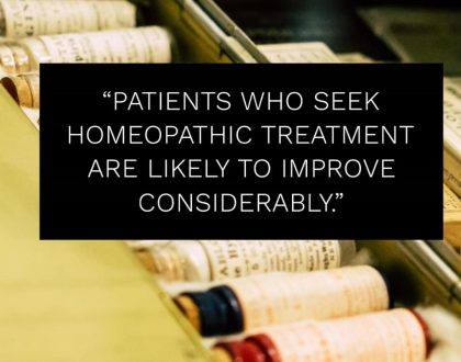 Choose Homeopathy!