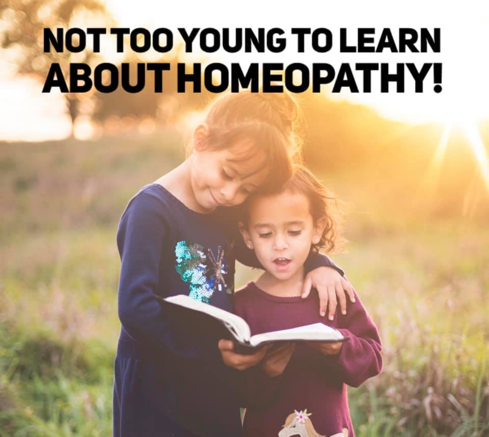 Not too young to learn about homeopathy