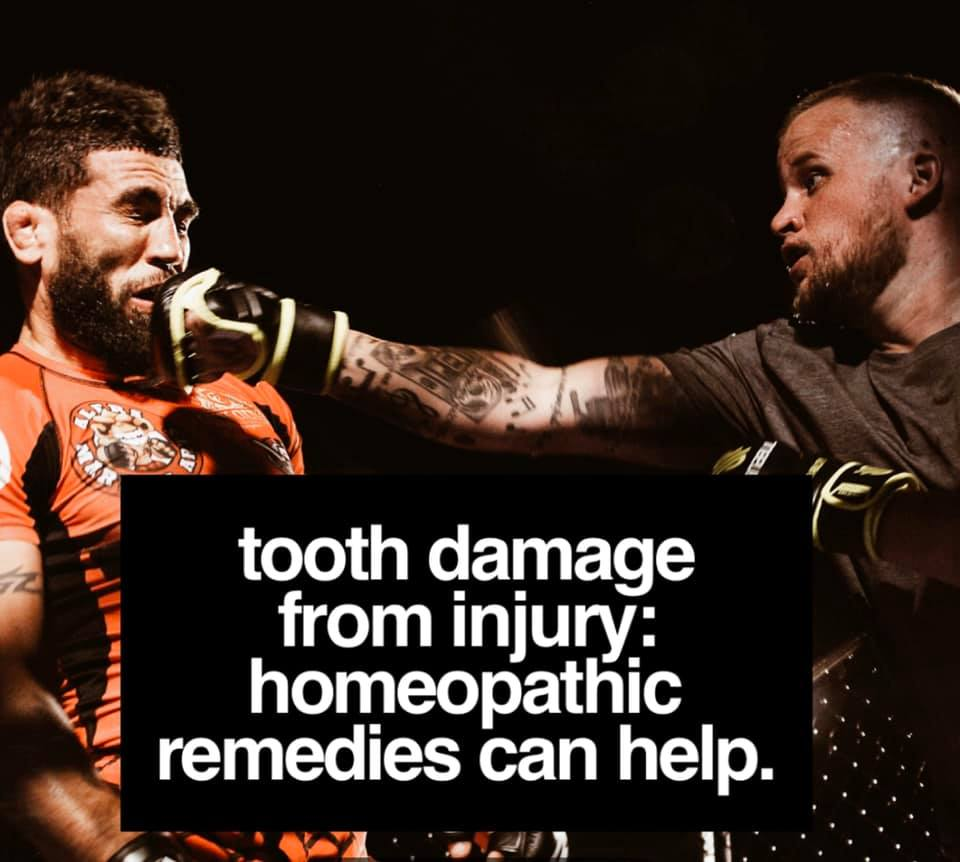 Tooth damage from injury