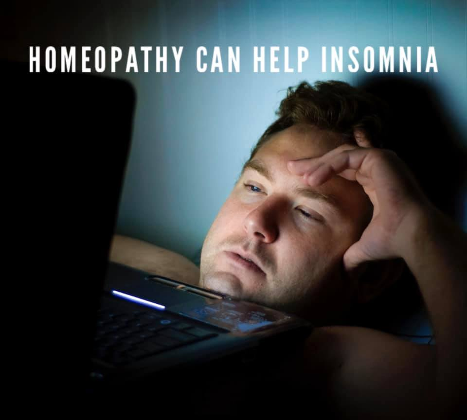 Homeopathy can help Insomnia