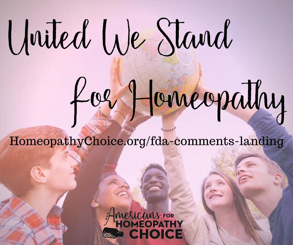 United We Stand: Homeopathy
