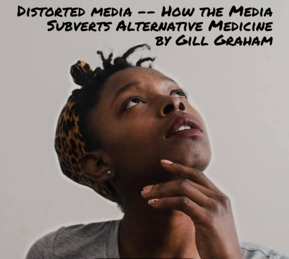 Distorted Media by Gill Graham