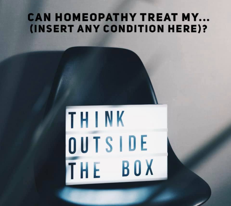 Can Homeopathy treat my...