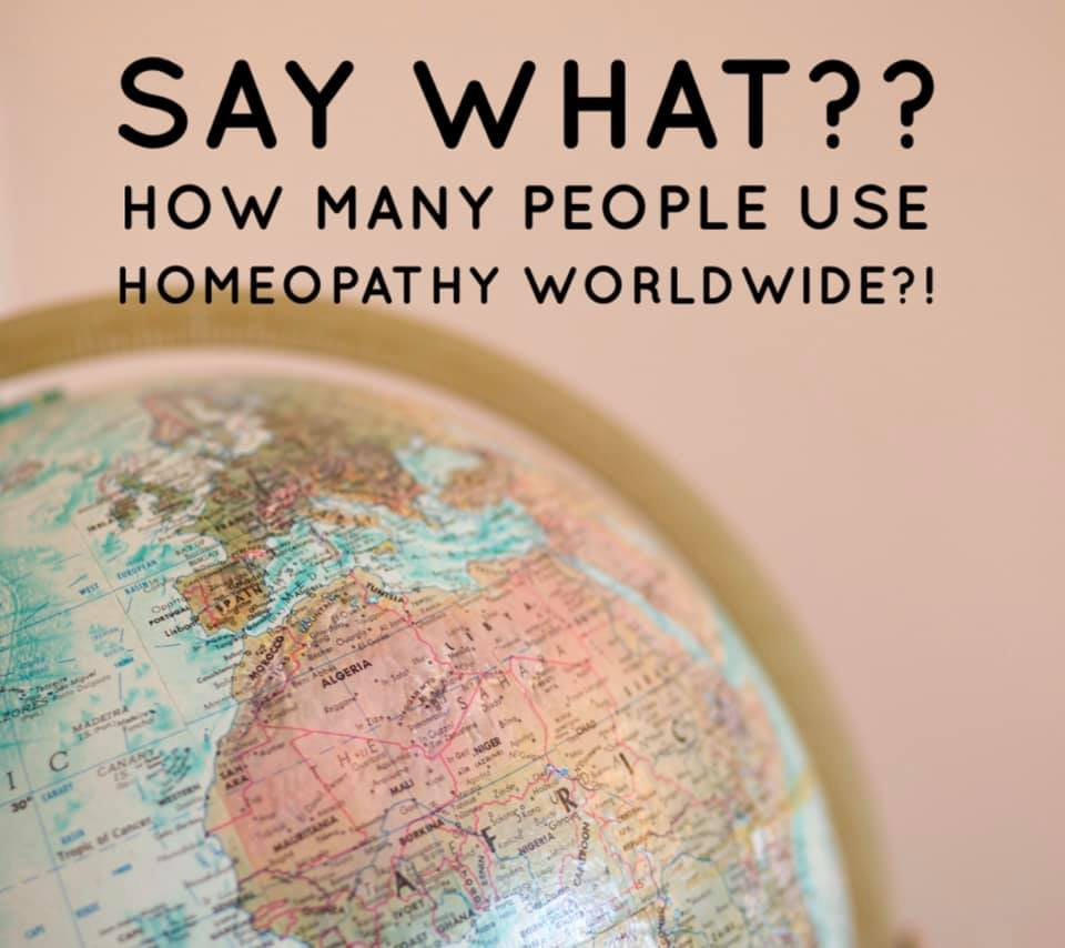 Worldwide use of Homeopathy
