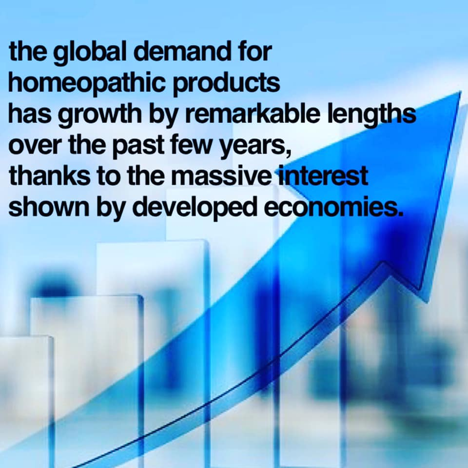 Homeopathic products growth