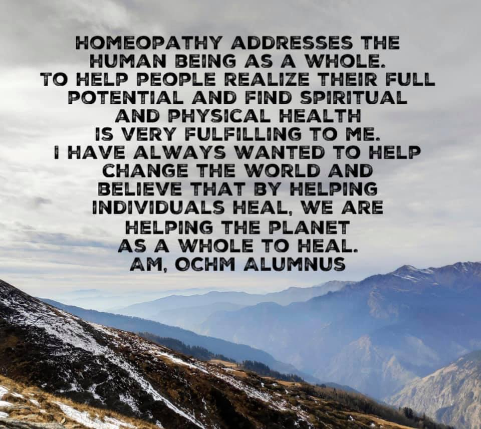 Homeopathic Journey