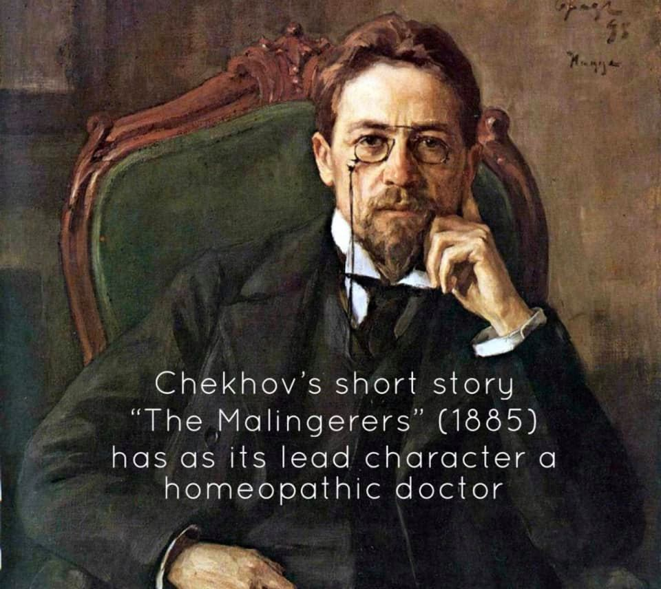 The great Russian author, Anton Chekhov (1860–1904)