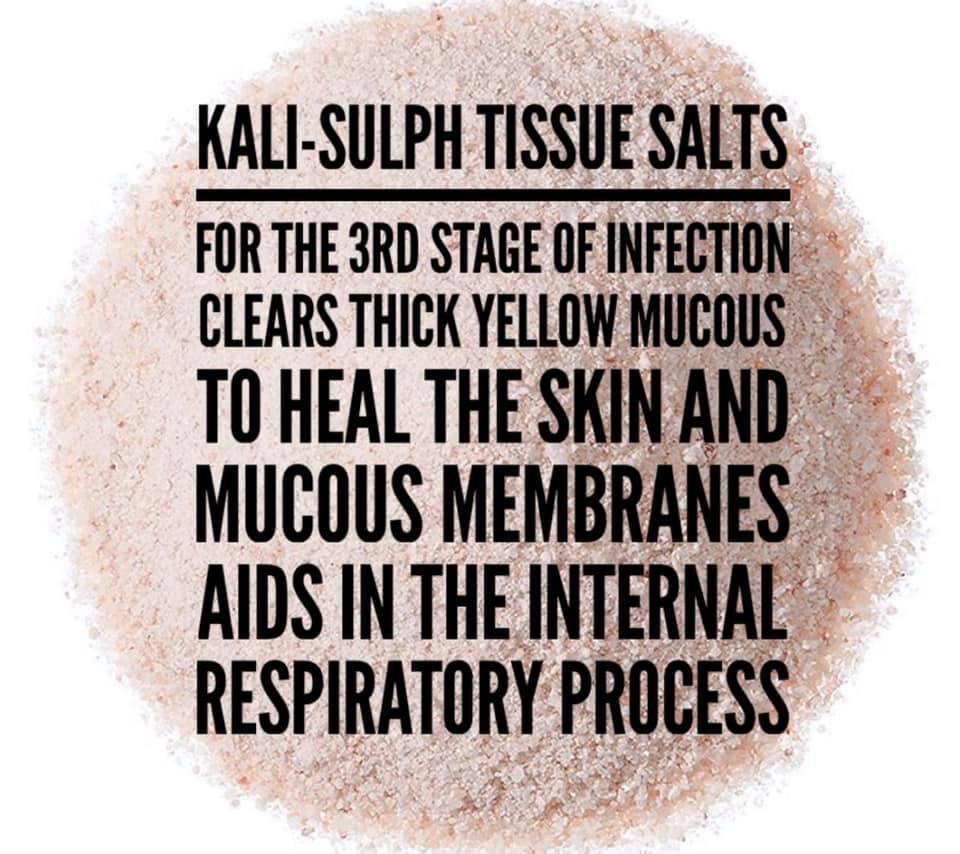 Kali-sulph tissue salts