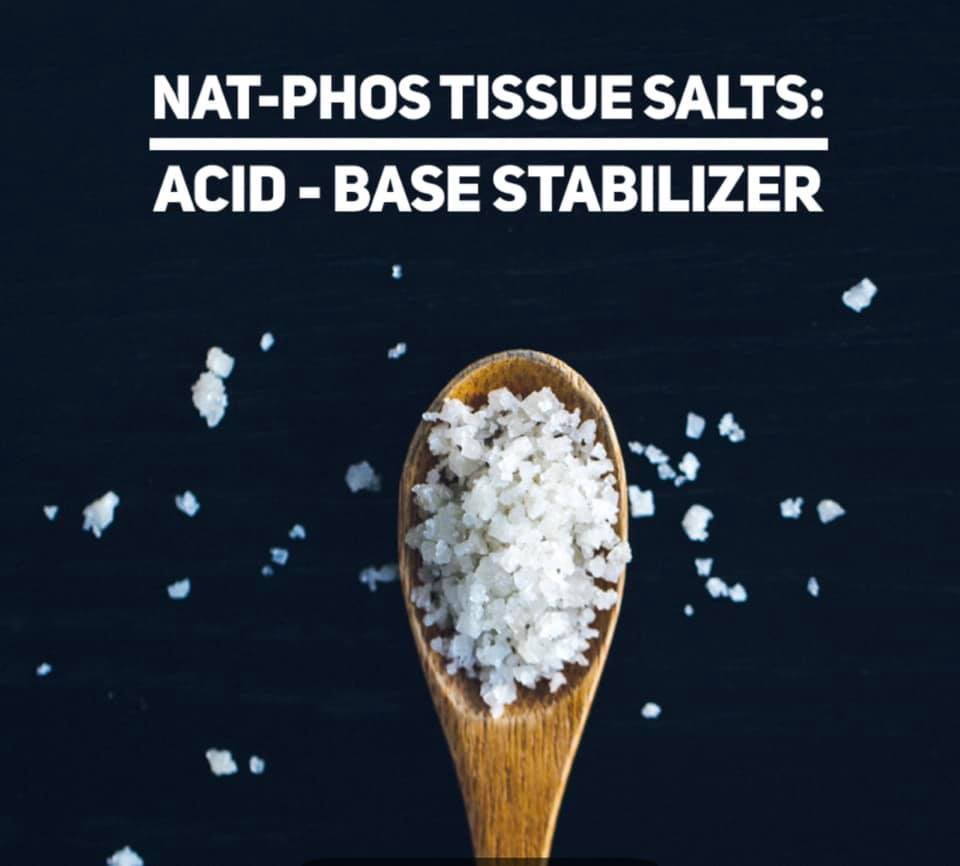 Nat phos tissue salts