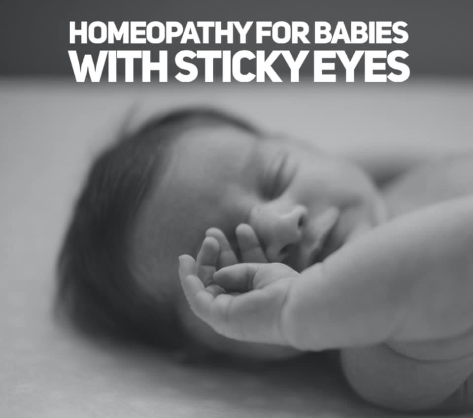 Homeopathy for Sticky Eyes
