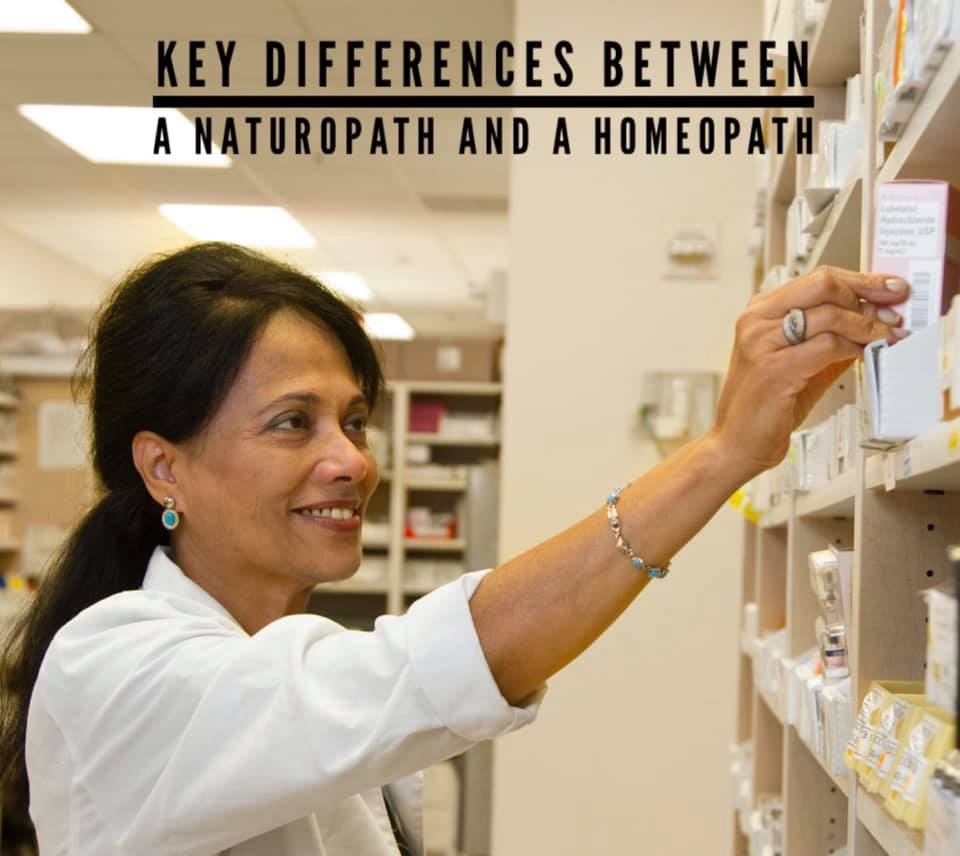 Key Differences Between Homeopathy & Naturopathy