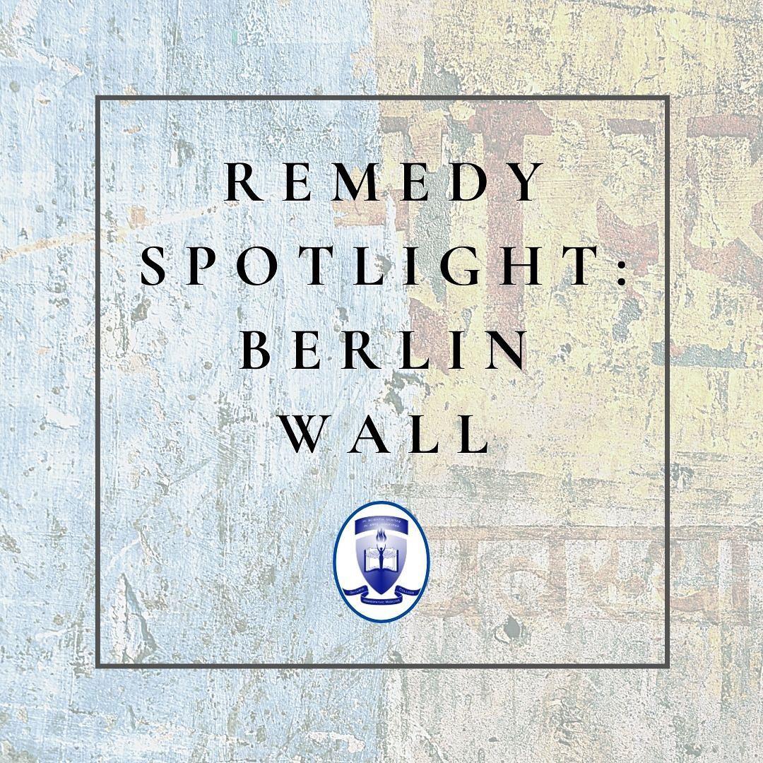 Remedy Spotlight: The Berlin Wall