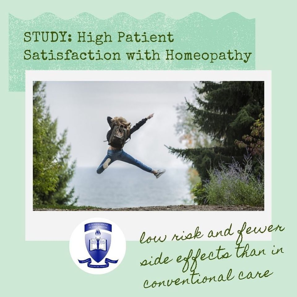 Study: Homeopathy Compared with Conventional Care