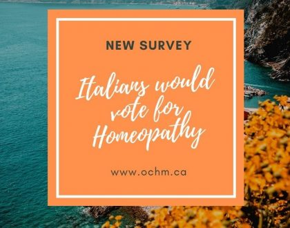 Italians would vote for Homeopathy