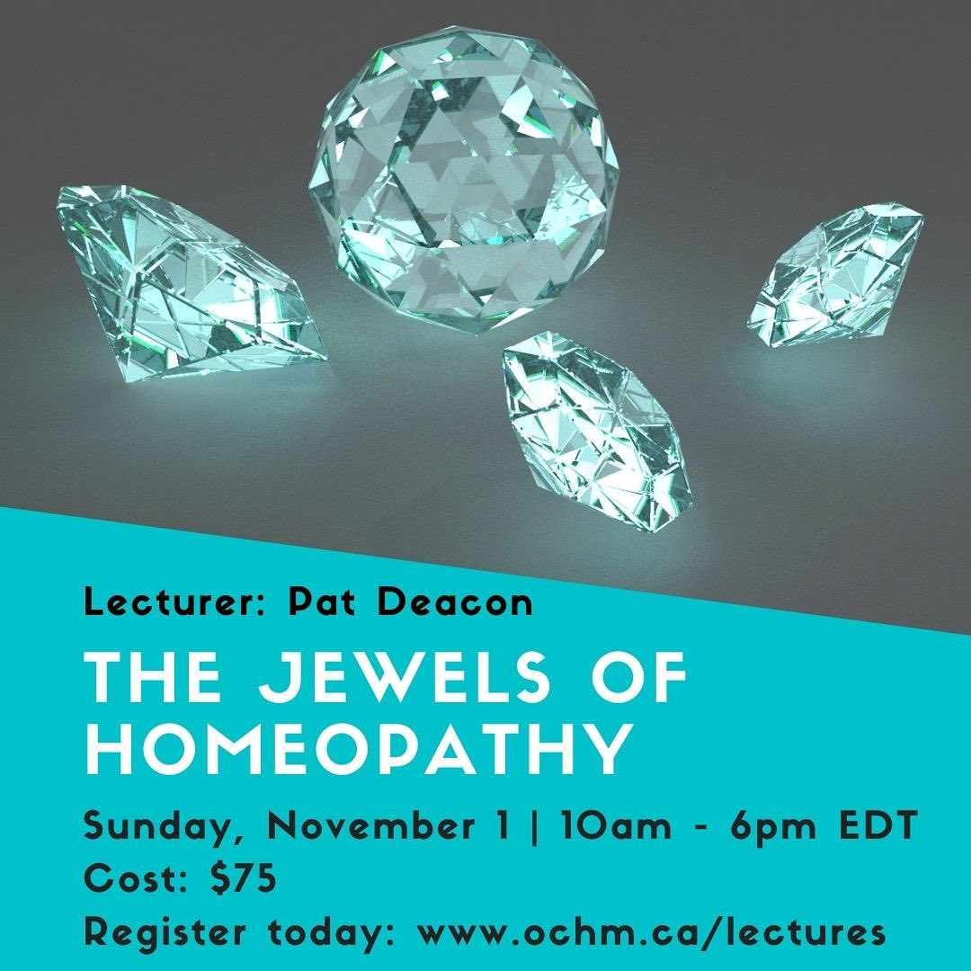 WEBINAR: The Jewels of Homeopathy