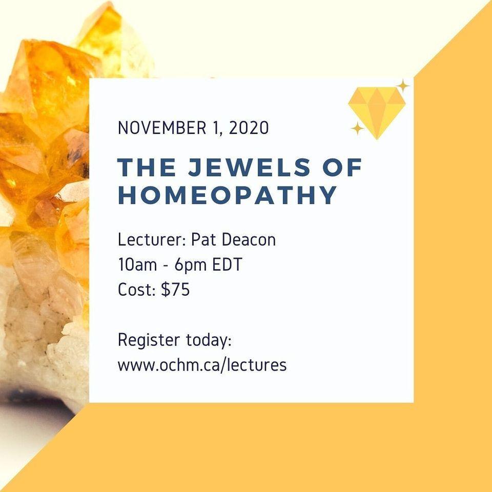 Webinar: The Jewels of Homeopathy