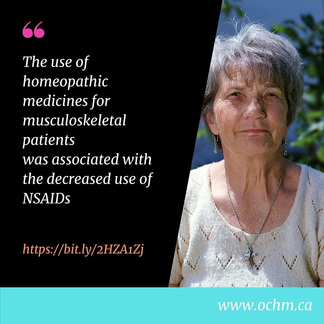 The use of Homeopathic Medicines for Musculoskeletal Patients