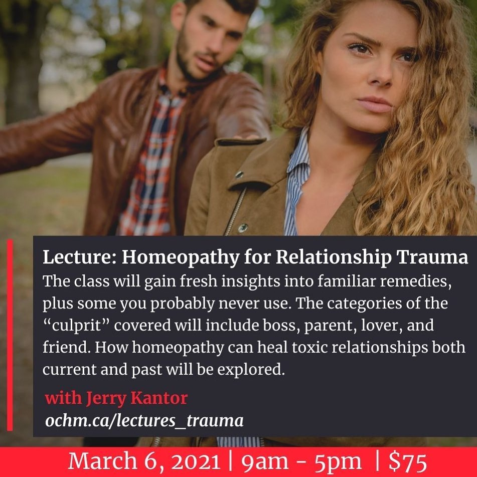Homeopathy for Relationship Trauma