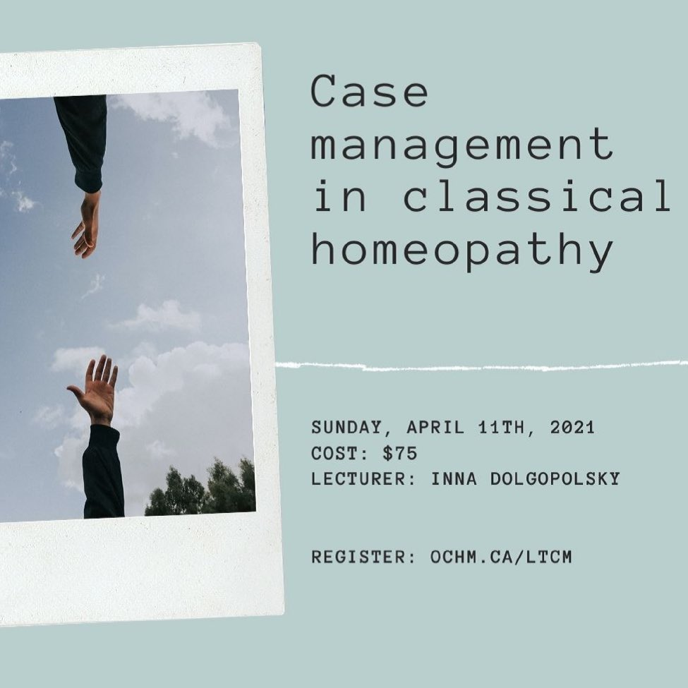 Case Management in Classical Homeopathy