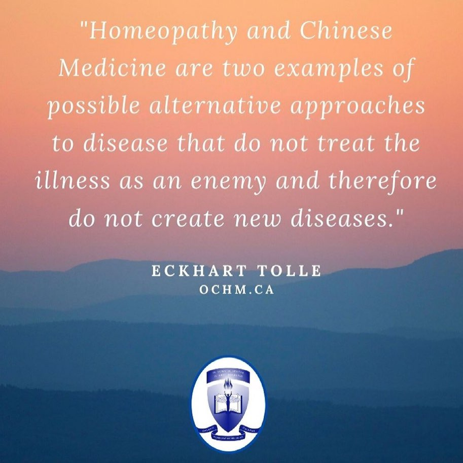 Homeopathy and Chinese Medicine