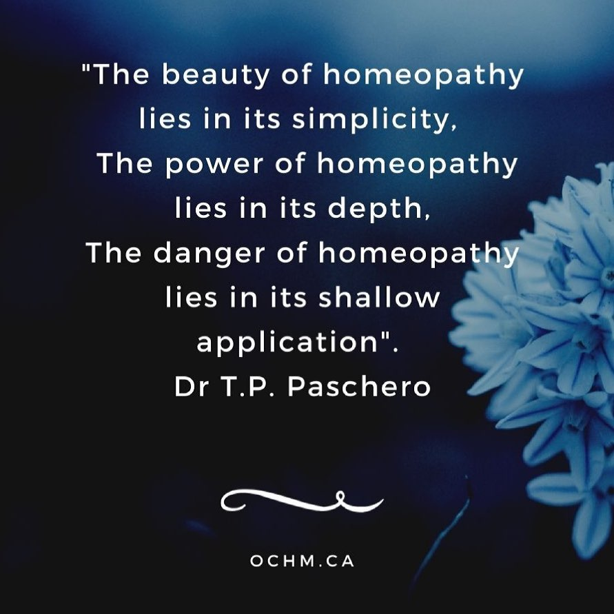 The beauty of Homeopathy lies in its simplicity, 