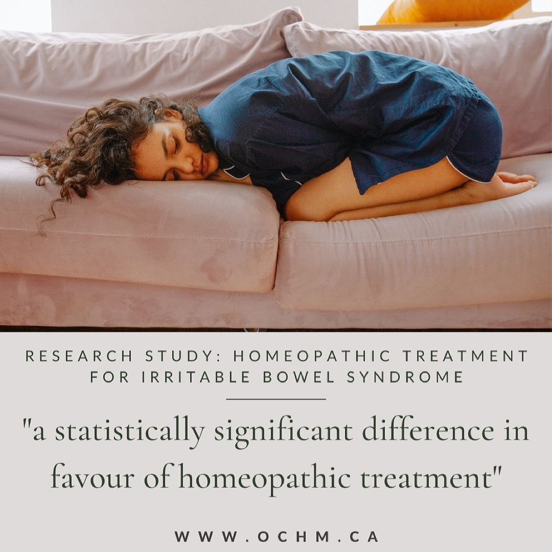 Research Study: Homeopathy and Irritable Bowel Syndrome