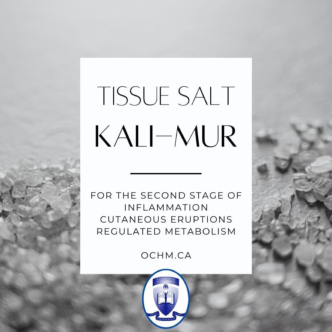 Kali-mur tissue salt occurs in nature in the mineral carnallite