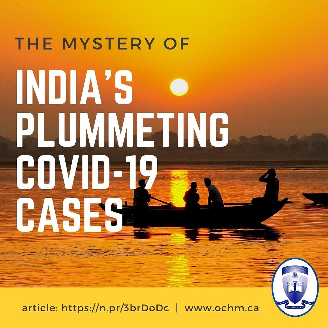 The Mystery of India's Plummeting COVID-19 Cases