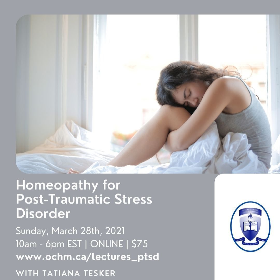 Homeopathy for Post-Traumatic Stress Disorder